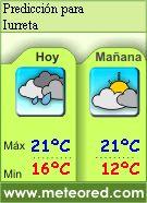 El Tiempo en Iurreta - Predicción a 7 días y condiciones actuales.
