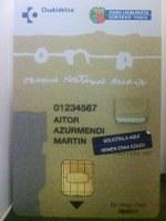 La tarjeta ONA llega a Amorebieta-Etxano