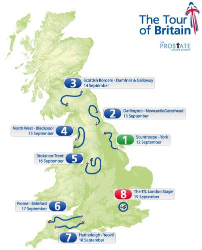 Tour de Gran Bretaña