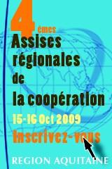 Quatri�mes assises r�gionales de la coop�ration d�centralis�e et du d�veloppement solidaire - Inscriptions en ligne