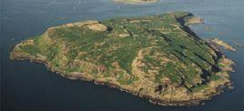 La isla escocesa de Little Cumbrae, lugar de peregrinación de yoguis