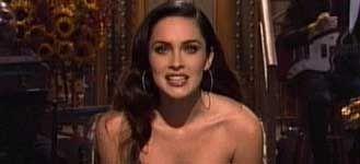 Megan Fox bromea sobre sus desnudos en un programa de televisión