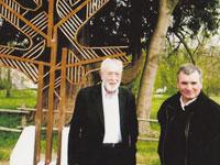 Euskamerika, dos artistas para una obra
