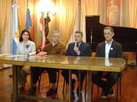 Inauguración del barnetegi de Las Flores, Argentina, y entrega de los diplomas del último curso