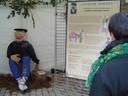 Exposition Olentzero erakusketa - Bisitariak (2005/XII/10)