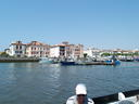 Donibaneko portutik Infantea etxea  -  La maison de l'Infante vue du port