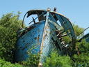Untzi zaharren gunea  -  le parc des vieilles coques traditionnelles
