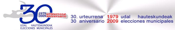 30.Urteurrena (1979-2009) Tokiko auteskundeak