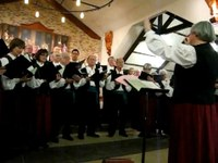 Actuación de Navidad del coro Biotzetik de Boise, EEUU - 2009