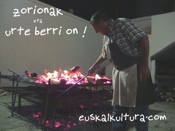 EuskalKultura.com egiten dugunok zorion beroak opa dizkiogu munduan barreiatutako euskal familia osoari