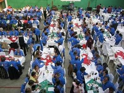 VascosMexicoren urteurren festa, 2005ean, Mexikoko Euskal Etxean (argazkia VascosMexico)