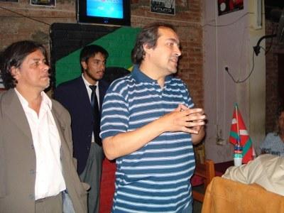 Euskal Etxearen sorrera ekitaldia, 2008ko abenduaren 3an