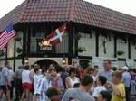 Boiseko Euskal Etxeko kanpoko ikuspegia San Inazio jai egunetan
