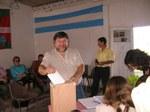 Gral. Rodriguez-eko Eusko Aterpeako lehendakari jauna eta lehendakariordea