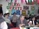 Euskaltzale argentinarrek eta bisitan zeuden europarrek bat egin zuten Buenos Airesko Herri Urrats ospatzen