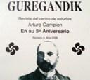 'Arturo Campion' Zentroak 'Guregandik' urtekariaren 4. zenbakia aurkeztuko du bihar Resistencia hirian