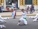 El CV 'Zingirako Euskaldunak' de Chascomús celebró San Fermín con una exhibición de danzas tradicionales vascas