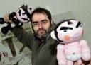 Artistas vascos desarrollan nuevos proyectos en China en el estudio que regenta Judas Arrieta en Pekín