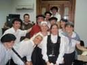 Las obras de teatro en euskera protagonizaron la fiesta del Día del Euskera organizada por Euskaltzaleak