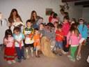Los txikis del Centro Vasco de Mar del Plata escribieron la carta al Olentzero en el Euskararen Eguna