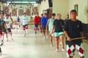 Continúan en el Centro Navarro de Rosario, sede Funes, las Olimpiadas deportivas de dantzaris