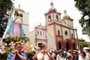 Fiestas en Naguanagua, Venezuela, en honor de su patrona, la Virgen de Begoña, participando Eusko Etxea