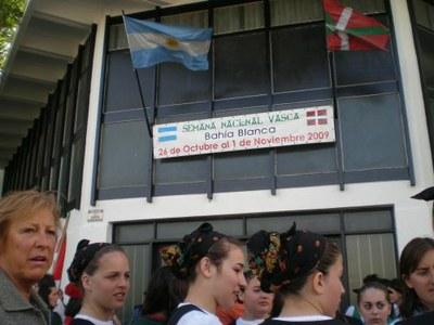 Bahia Blancako Euskal Argentinar Aste Nazionala 2009: ekitaldietako argazki erreportaia (I)