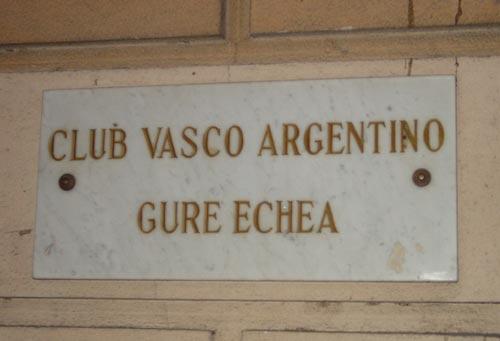 'Gure Echea' Euskal Etxea Buenos Aires Argentina