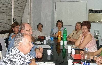 A meeting of the Board of the Tucuman Basque Cultural Club
