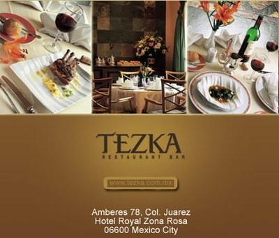 Tezka restaurant at the Hotel Royal Zona Rosa