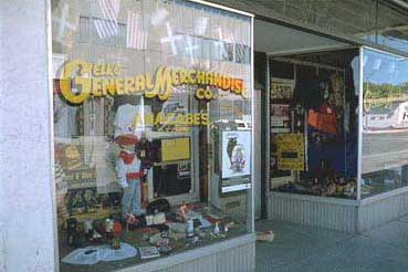 Anacabe's Elko General Merchandise, a traditional reference point of the Basques that came to Elko (photo EuskalKultura.com)