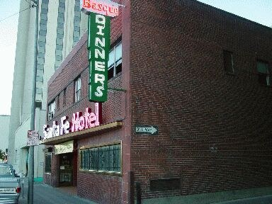 """Santa Fe Hotel"" belonging to Zubillaga from Esnazu in Reno"