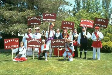 Reno Zenbat Gara Basque dancers