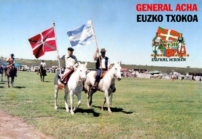 Basques of General Acha. Eusko Txokoa Basque Club