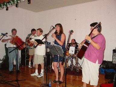 """Some young people of Boise form the """"Gaupasa"""" Basque folk group"""