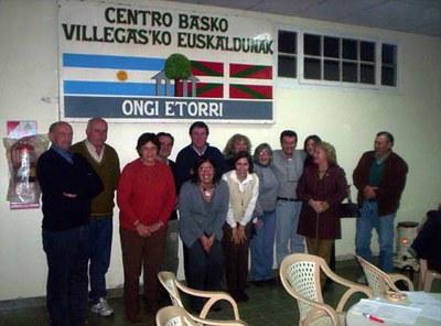 Board of Directors of Villegasko Euskaldunak Basque Club of General Villegas in the Argentinian province of Buenos Aires