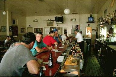 The Noriega hotel is one of the traditional old Basque meeting points in Bakersfield