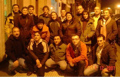 Picture of members of the La Rioja Basque Cultural Association