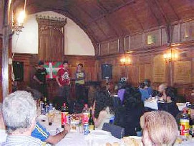 Concert organized by the London Basque Society