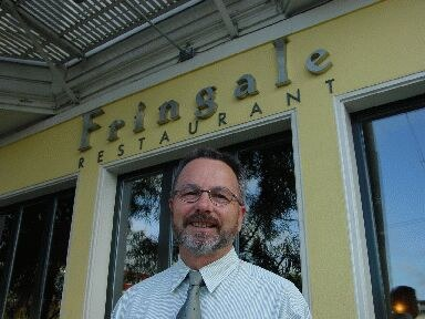 """Jean-Baptiste Lorda (in the picture) and  Gerard Hirigoyen, the chef, are the owners of San Francisco's """"Fringale"""" and """"Le Pastis"""" restaurants"""