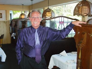 """Guernica"" the restaurant that Gary Jones from California bought from Roger Minhondo from Irisarri"