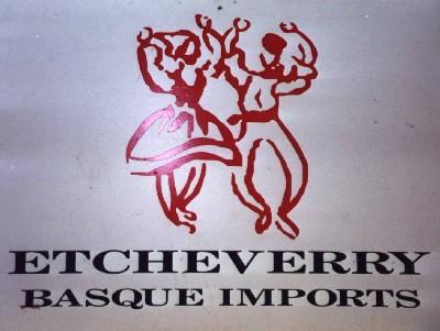 'Etcheverry Basque Imports' San Bruno Kalifornia Estatu Batuak (AEB)