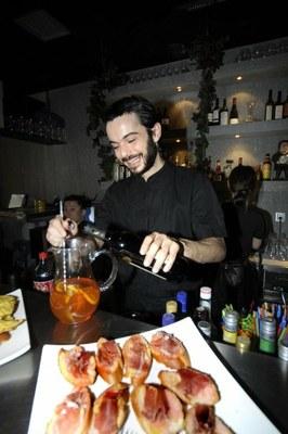 Jon Alaña, el emprendedor cocinero en el Restaurante Kuluska de Shangai. (Foto: oreneta.com)