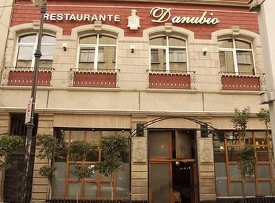 Aspecto exterior del histórico Danubio de Ciudad de México