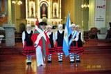 Banderas en el 151° Aniversario de la ciudad argentina de Chivilcoy