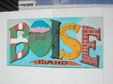 Graffitis sur les murs de Boise - Idaho