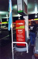 Estación de combustible GNC en Mar del Plata
