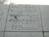 Chansons basques gravées dans le sol
