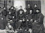 José Aldazabal y familia