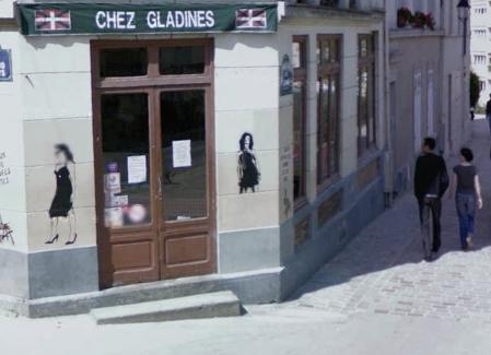 Chez GladinesEuskal Jatetxea Paris Frantzia